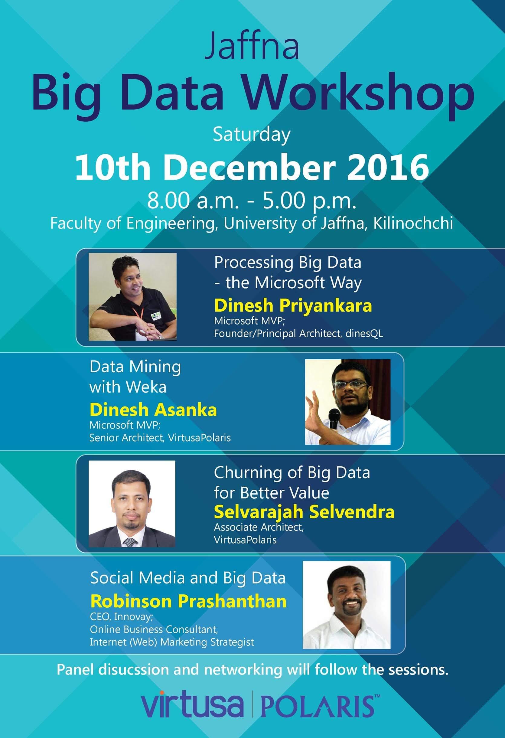 Jaffna Big Daata Workshop